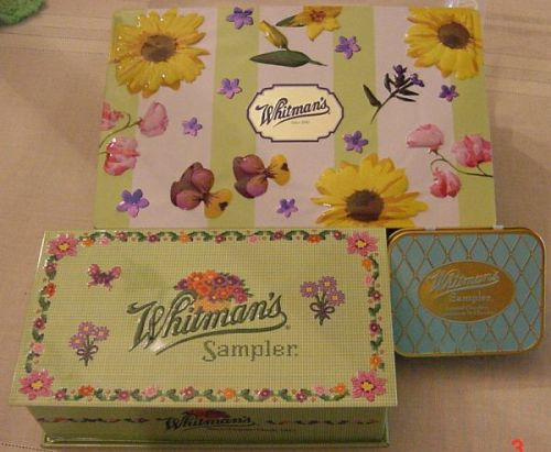 Whitman Candy Boxes New